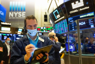 Inventory futures higher after Dow's record close