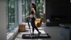 This foldable treadmill is perfect if you struggle to exercise at home