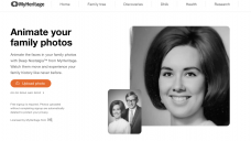 Deep Nostalgia uses video reenactment technology to animate faces in still photos