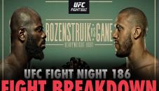 UFC Fight Night 186 breakdown: Ciryl Gane should prove too much for Jairzinho Rozenstruik