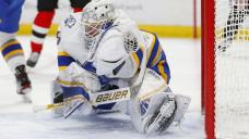 Sabres goalie Ullmark injured during 1st period vs Devils
