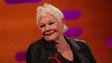 Dame Judi Dench discusses living with 'intensely anxious' eyesight problems