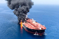 Israeli cargo ship damaged after mysterious explosion rattles Oman Gulf