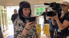 The World's A Runt Blurry For Billie Eilish. Director R.J. Cutler Chanced on Readability