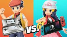 Pokemon Vivid Diamond & Intellectual Pearl Trailer Comparability