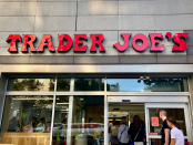 A Trader Joe's employee says he was fired after he asked the firm's CEO to enhance its COVID-19 protections