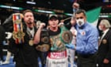 Canelo Álvarez subdues Avni Yıldırım then announces Billy Joe Saunders fight