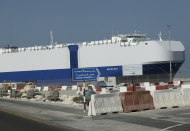 Israeli-owned ship docked in Dubai after mysterious blast