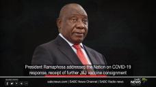 Dwell stir: Ramaphosa addresses the nation, Sunday 28 February