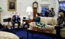 Biden and Republicans agree to further Covid relief talks but deep divisions remain