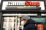 GameStop shares fall another 30%, lose more than half their value in two days