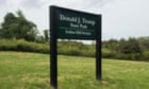 Novel push to rename Donald Trump state park amid complaints