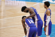 Shake Milton, Doc Rivers give update on knee injury suffered vs. Hornets