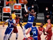 LeBron James has rare air-balled free-throw Thursday vs. Nuggets