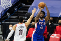 Joel Embiid, Sixers give reactions to 'rotten loss' to Bound Blazers at home