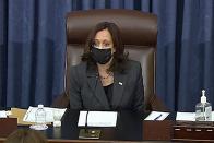 Senate approves budget bill as Harris casts tie-breaker vote…