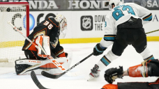Labanc, Donato score in shootout to lift Sharks over Geese