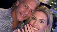 David Beador, Wife Lesley Cook dinner Welcome Their 1st Child Collectively, His 4th