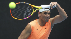 Nadal bothered by back soreness before Australian Launch