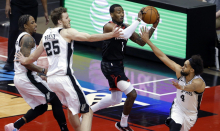 Rockets star John Wall blasts NBA officials after close loss to Spurs