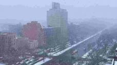 Winter storm brings heavy snow to Novel York City