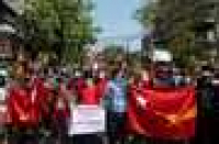 Protesters return to Myanmar streets to oppose military coup