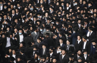 10,000 mourners gather for funeral of senior extremely-Orhtodox rabbi