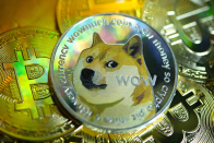 Tweets from Elon Musk and celebrities send dogecoin to a record high