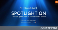Stumble on the Xiaomi Mi 11 global launch event here