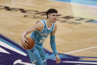 Charlotte Hornets announcer Eric Collins goes off during LaMelo Ball's career night