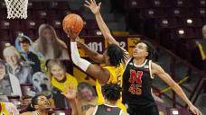 Carr, Minnesota pull away from Nebraska 79-61