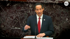 Gain. Raskin says Trump's lawyers 'need to stop the Senate from hearing the info'