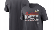 Tampa Bay Buccaneers Mammoth Bowl Champs tools, get yours now and celebrate Tom Brady's 7th ring