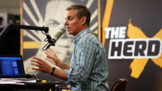 Colin Cowherd misses Fox Sports actions shows after blood clot was discovered in his lung
