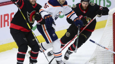 Oilers' offense comes from defensemen in 3-2 win over Sens