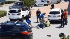 CAUGHT ON CAMERA: Dramatic electorate' arrest after driver 'tries to flee break' in Perth