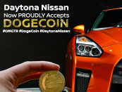 Noteworthy WOW! Daytona Nissan now accepting Dogecoin (more or much less)