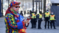 A subdued year for Germany's Carnival, thanks to the virus