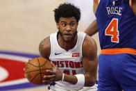Pistons' Saddiq Bey now has the longest double-digit scoring streak by a rookie