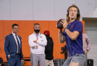 Tim Tebow discusses the relationship Urban Meyer could have with Trevor Lawrence