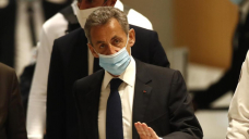 French ex-chief Sarkozy jailed for bribe