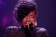 The keep is former X Component star Misha B now after the singer's feud with Tulisa?