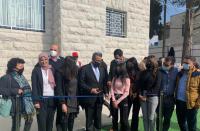 Jerusalem opens youth center in Shuafat, promoting metropolis's Arab community