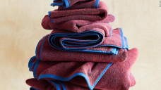 Brooklinen dropped some beautiful (and soft) marled bath towels