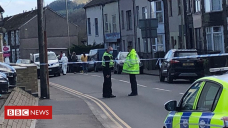 Rhondda: Investigation begins as woman, 16, dies and two hurt