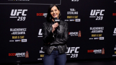 Megan Olivi: Working UFC 259 broadcast 'a good distraction' from husband Joseph Benavidez's fight