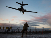 US Air Pressure bombers are on an 'historic' mission to Norway to let allies know they'll be 'on aim, first time'