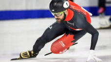 Charles Hamelin captures 1,500m world title at short track worlds