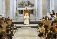 The assign IS dominated, pope calls on Christians to forgive, rebuild