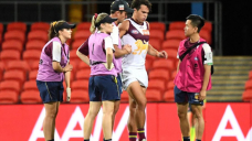 Rayner injury mars Lions AFL win over Suns